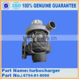 China made OEM turbocharger for engine SAA6D107E on PC240-8 with part number 6754-81-8090