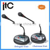 Digital chairman discussion conference system conference table microphone
