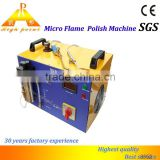 High Point portable tennis ball machine micro flame polisher china product