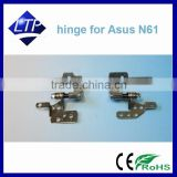 Original laptop notebook LCD/LED Left&Right display hinges for ASUS N61 N52 X64 X61V Series