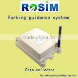 Wireless data collector for parking guidance system (high accuracy/multi-interface)