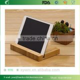 Portable Bamboo Tablet iPad Holder with All iPad and Samsung Galaxy Tab