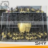 beautiful handmade wrought iron gate design with competitive price