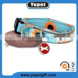 Wholesale Fashion Chinese Pet Products Personalized Custom Private Logo Nylon Pet Dog Collars Bulk