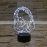 custom oem book shape led night light for kids/color changing led night light lamp/living room furniture night light