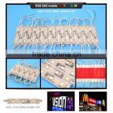All XQD modules for signal letter glue ip68 smd 5050 rgb led smd 2835 chip gold wires led light module