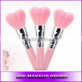 Big Size Powder Brush Pink Heart Shape Blush Brush Make Up tools Loving Heart Makeup Brushes