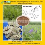 Astragalus Root Extract Astragaloside IV 0.3-98%,Cycloastragenol 5%-98% HPLC from GMP manufacturer