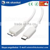 Hard Drive EMI/RFI 5gbps usb 3.1 type c cable type C to micro B charging syncing data high speed cable for Sync,audio,video