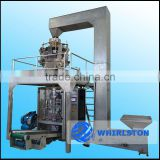 HRSD500E-Z full automatic banana chips packing machine with combined 10-head digital weigher