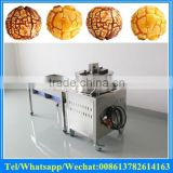 full automatic gas heating Amercian ball shape popcorn making machine