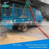 Vehicle mounted electric grain suction machine for individual use