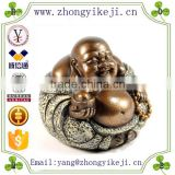 2015 chinese factory custom made handmade carved hot new products resin laughing buddha statue
