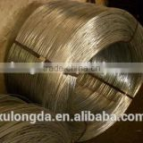 Low carbon cold drawn 1.6mm 2mm galvanized steel wire