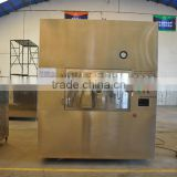 Microwave vacuum drying machine for tomato sauce