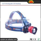 FeiYing XQ 80 3 Mode XM-L T6 LED 1800 lumens High Power Rechargeable LED Headlamp