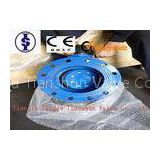 Hand Lever U Type ANSI Industrial Butterfly Valve with ductile iron / bronze Disc 1.5\
