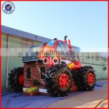 QIQI monster truck inflatable bounce castle