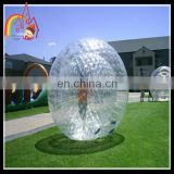 Crazy game large inflatable zorb ball,inflatable human hamster ball,roll inside inflatable ball
