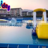 PVC Inflatable Floating Water Riding Equipment For Water Park