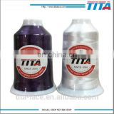150D/2 4000m polyester embroidery thread for industry high brightness