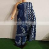 Best Quality Hand Block Printed Indian Saree