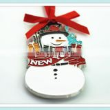New Design Metal Christmas Craft Snowman Christmas Gifts