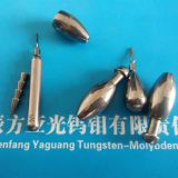 Environment friendly high density tungsten fishing jig head