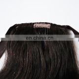 Factory wholesale ponytail popular wrap around human hair ponytail