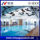 CCC Certificate Tempered Laminated Glass Window Swimming Pool