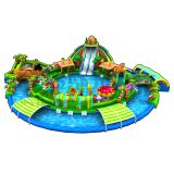 Quality products inflatable used pool slide for sale
