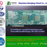 China Single Sided Printed Circuit Board PCB Manufacturer with Gjb9001 and RoHS Certification