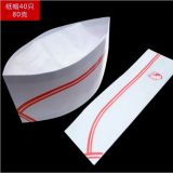 Factory sell disposable chaf hat paper made chaf hat