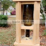 FSC certified custom logo wooden bird feeder, hanging bird feeders