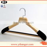 customize natural wooden hanger for suit clothes                                                                                                         Supplier's Choice