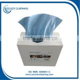 [soonerclean] Industrial Spunlaced Multi-purpose Wiping Cloth/Polishing Wipes/Cleaning Wipes