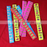 cartoon adhesive label with rewetting gule