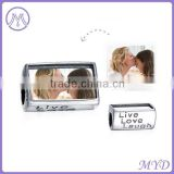 925 sterling silver live love laugh memorable photo beads for personalized jewelery