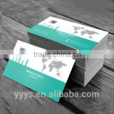 wholesale china factory thick picture/number/barcode business card printing