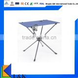 Easy carry outdoor folding table/folding picnic table/camping table