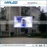 RGB full color DIP346 very bright P10 led screen as scoreboard with waterproof level certificates