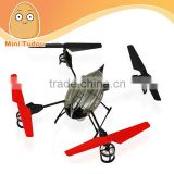 2.4GHz 4CH beetle WL toy v959 of rc parrot drone with camera, gyro,3D RC UFO