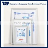 High Quality: 25mm A4 size Aluminum snap frame a4 size sign boards, Sanap frame Poster frame