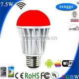 WiFi Smart Led with WiFi Controlling for Energy Saving Bulb Rohs Online Shopping China Led Lamps