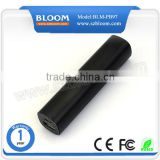 Tube 2600mah power bank wholesale price , cheapest 5V portable 2600mah power bank wholesale price