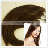 double drawn tangle free russian human hair bulk for hair extension