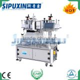 Guangzhou quality premium semi automatic double side bottle label machine with PLC control