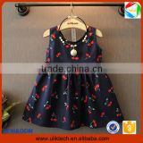 2016 Manufacturer new arrival summer children dress wholesale flower girl dress for fashion frock design kid dress (ulik-GD117)