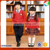 baby girls uniforms in school hand made sweater three pieces school dress boys school clothing in spring