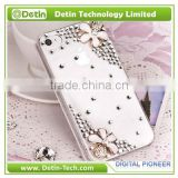 Alloy Accessories and Rhinestone decorated bling phone case - Make your own desing for any phone model